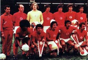 El Cangrejo Rojo. Estupiñán llegó al Toluca, fue campeón y goleador de su equipo en 1974.