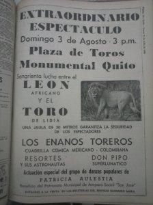 Seguramente, la foto del león es meramente referencial.