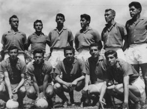 El España de 1958, claro, siempre en El Arbolito.