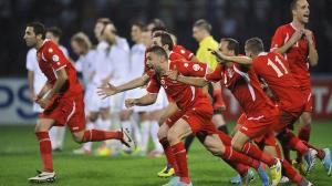 Celebran los jordanos. Eliminaron a Uzbekistán en una electrizante tanda de penales.