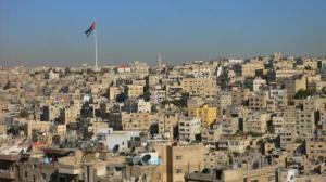 Vista de la zona antigua de Amman