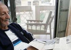 Carlos Raffo, en sus años finales (Foto de El Comercio)