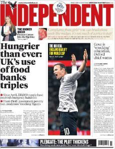 El fútbol nunca estará por encima de otro tema en Inglaterra. Nunca.