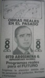 Otto Arosemena, el epítome del político hábil.