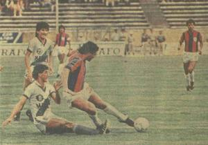 Audaz Octubrino 1987 terminò tercero. La mejor posición històrica de un equipo orense en Serie A.