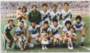 Audaz Octubrino 1986. Salvo Victorino, Marchesse, el mismo equipo se repitiò para 1987.