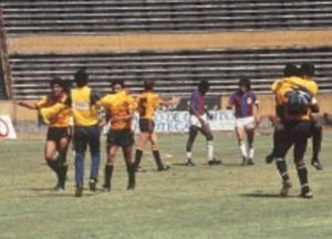 Terminó el partido. El 0-0 le daba el título a Barcelona. (Foto: Archivo El Comercio)