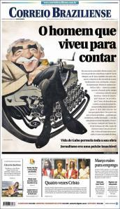 Correio Braziliense, uno de los diarios con mejores portadas en el continente.