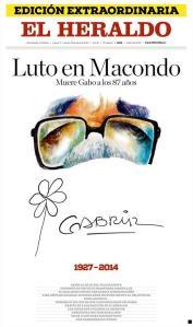 El Heraldo de Barranquilla. Significativa, pues fue el primer medio donde  García Márquez colaboró.