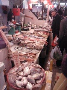 Mercado de pescado en Hung Hom.
