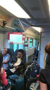 El KL Ekspres, el tren que en 35 minutos te lleva del aeropuerto al centro.