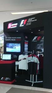 Así se vendían las entradas para el Gran Premio de F1 que se corrió en Sepang, La entrada más barata, USD 12.