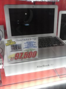Una MacBook Air a 950